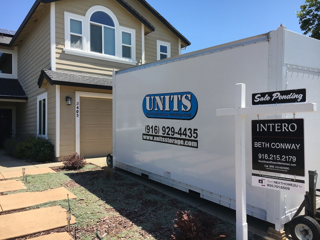 UNITS Portable Storage is great for Real Estate