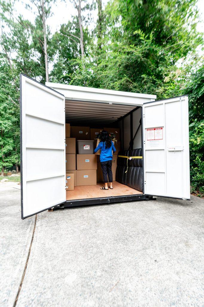 Benefits of El Dorado Hills Portable Storage