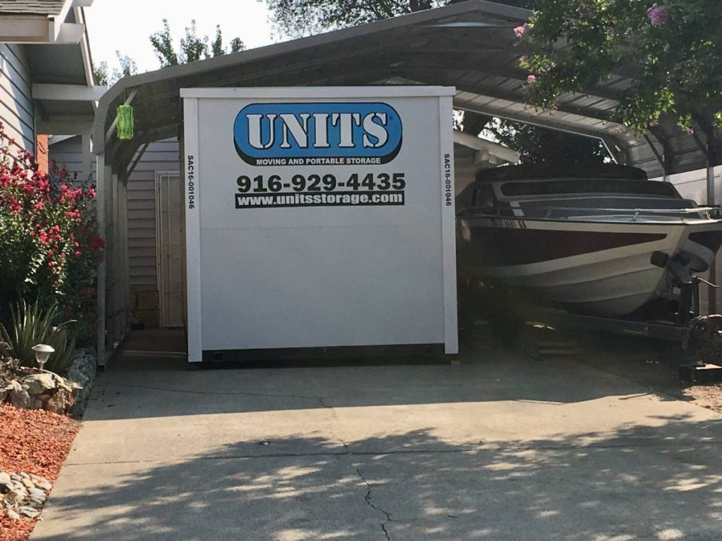 UNITS Can Deliver A Portable Storage Container Into Tight Spaces